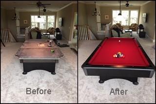 Expert pool table repair in San Francisco content image2