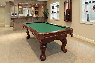 Expert pool table setup in San Francisco