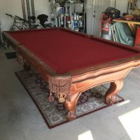 Presidential Hand Crafted Addison Pool Table