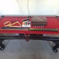 """Olhausen Pool Table 7'5"""" by 4'2"""""""