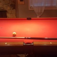 Olhausen Pool Table With Pool Lights