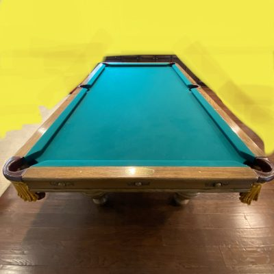 8' Rebco Lexington Pool Table.
